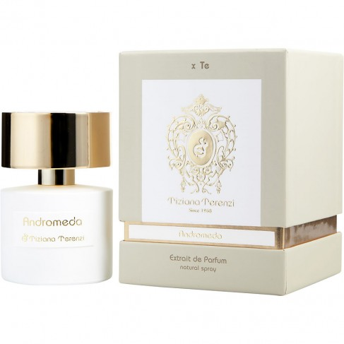 Tiziana Terenzi Andromeda е луксозен унисекс парфюм със съблазнителен, цветно-плодов ориенталски аромат с дървесни нотки