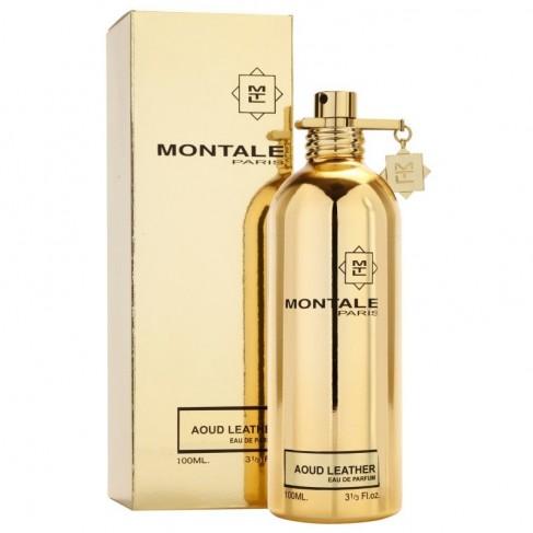 Montale Aoud Leather е луксозен унисекс парфюм с чувствен, ориенталски аромат,  екзотични подправки и пикантни нотки