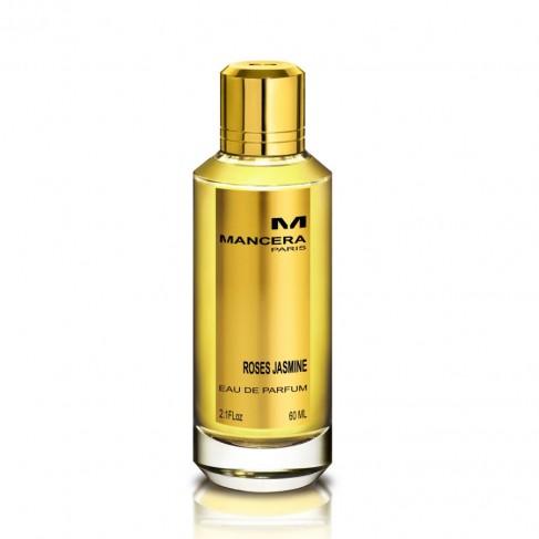 Mancera Roses Jasmine е унисекс парфюм с чувствен и свеж дървесен аромат, плодово-цветни нотки и стилно ухание