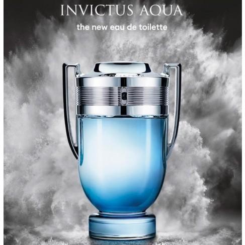 Paco Rabanne Invictus Aqua е мъжки парфюм със свеж и енергизиращ дървесен аромат с морски тонове - 2