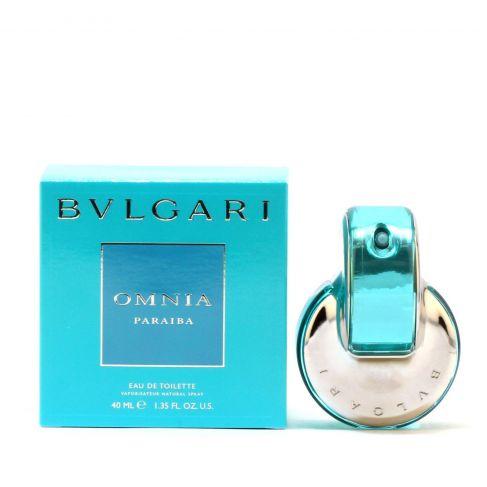 Bvlgary Omnia Paraiba е женски парфюм с екзотичен, плодово-цветен аромат с дъх на какаови зърна
