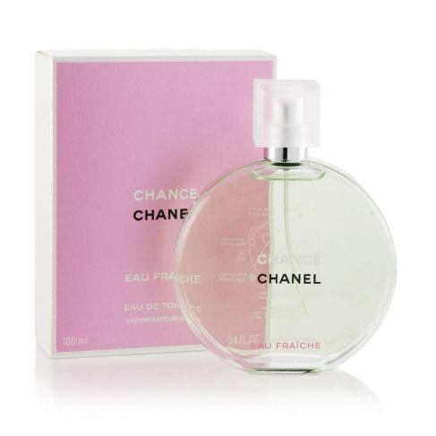 Chanel Chance Eau Fraiche е женски парфюм със свеж цветно-ориенталски аромат и цитрусови нотки за стилни, елегантни дами