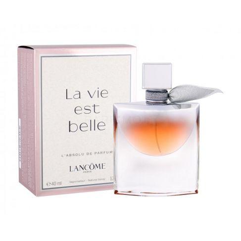 Lancome La Vie Est Belle L`Absolu е луксозен женски парфюм с омайващ плодово-цветен аромат и ориенталски нотки