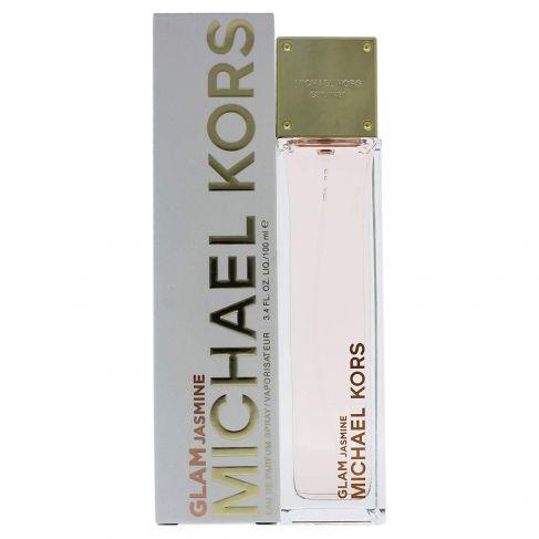 Michael Kors Glam Jasmine е женски парфюм с нежен цветен аромат, плодови и дървесни нотки за стилни дами