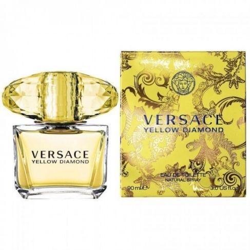 Versace Yellow Diamond е луксозен женски парфюм със свеж и съблазнителен цветен аромат, плодови и ориенталски нотки