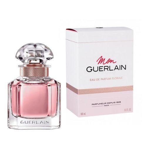 Guerlain Mon Guerlain Florale е женски парфюм с наситен и свеж флорален аромат с плодови и дървесни нотки