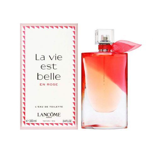 Lancome La Vie Est Belle En Rose е женски парфюм с чувствен и свеж, плодово-цветен аромат с мускусни нотки