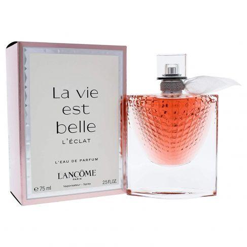 Lancome La Vie est Belle L`Eclat  е женски парфюм с чувствен и свеж, плодово-цветен аромат с ориенталски нотки и изискано ухание