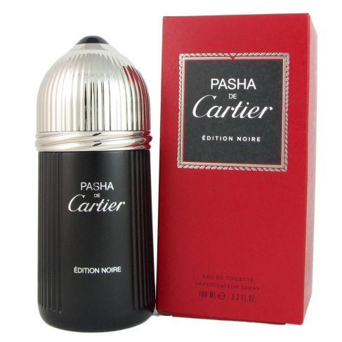 Cartier Pasha Edition Noire е мъжки парфюм със свеж и наситен, омайващ  дървесен аромат с кехлибарени нотки