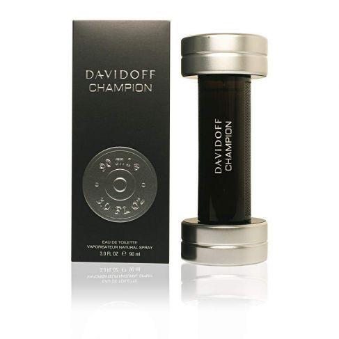 Davidoff Champion е мъжки парфюм със свеж и тонизиращ дървесен аромат, с плодови нотки и подправки