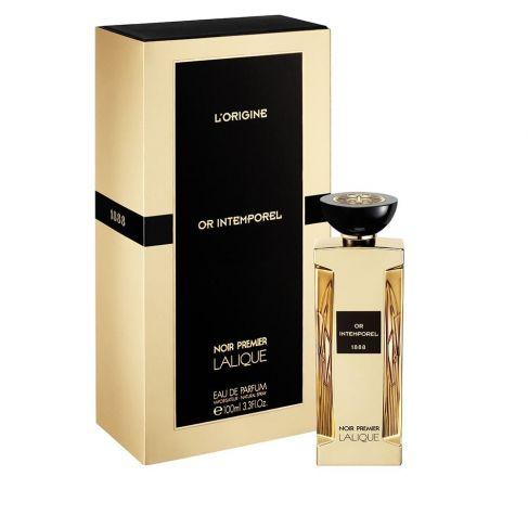 Lalique Noir Premier Or Intemporel е мъжки парфюм с чувствен и съблазнителен, унисекс ориенталски аромат, с пикантни нотки и подправки