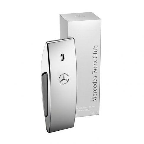 Mercedes Benz Club е мъжки парфюм, със съблазнителен и свеж дървесно-мускусен аромат, с пикантни нотки и цитруси