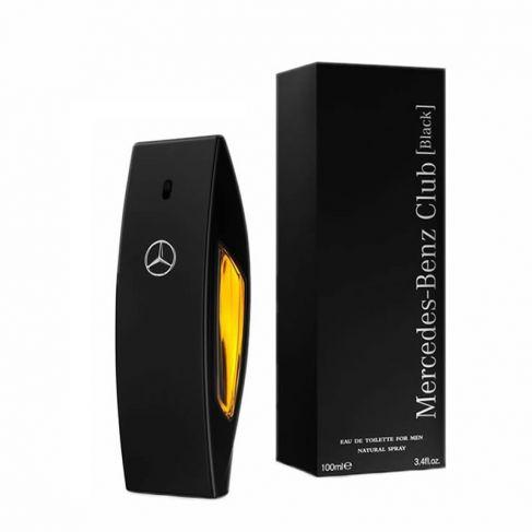 Mercedes Benz Club Black е луксозен мъжки парфюм с чувствен и съблазнителен ориенталски аромат, с плодово-цветни нотки