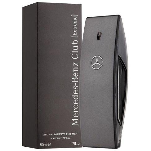 Mercedes Benz Club Extreme е мъжки парфюм с наситен, свеж и чувствен ориенталски аромат, с дървесни и плодови нотки