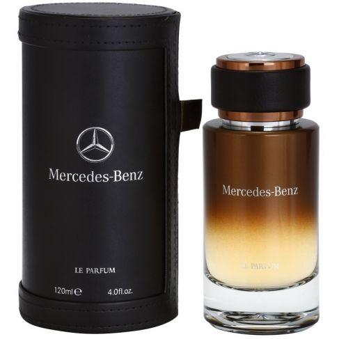Mercedes Benz Le Parfum е луксозен мъжки парфюм със съблазнителен, ориенталски дървесен аромат, с пикантни и плодови нотки