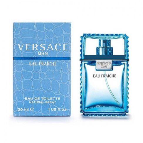 Versace Man Eau Fraiche е мъжки парфюм със свеж ориенталски аромат, дървесни и плодови нотки и пикантни подправки
