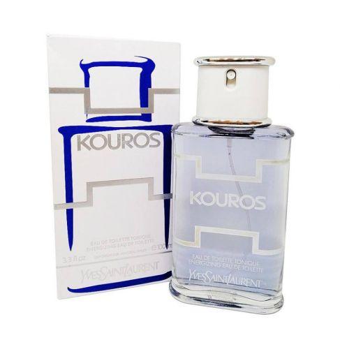 Yves Saint Laurent Kouros Tonique Energizing е мъжки парфюм със свеж и енергизиращ дървесен аромат, с плодови и морски нотки