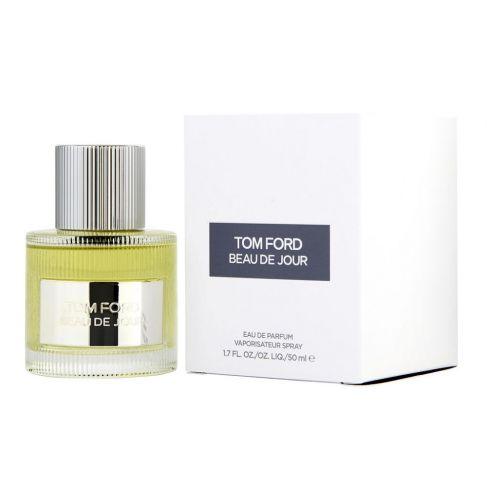 Tom Ford Beau de Jour е мъжки парфюм със свеж и изискан фужер аромат с много уханни подправки и кехлибар