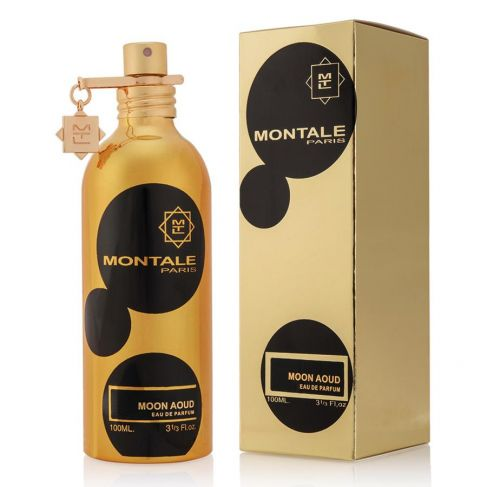 Montale Moon Aoud е унисекс парфюм с чувствен, ориенталско-дървесен аромат и с ухание на роза и шафран